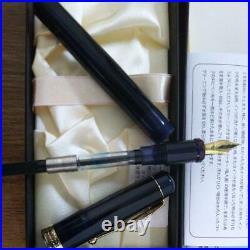 Onishi Seisakusho Handmade Celluloid Fountain Pen Nib Steel Gold Plated