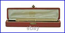 PRECIOUS CARTIER 18 k SOLID GOLD LE FOUNTAIN PEN BOX 1930s