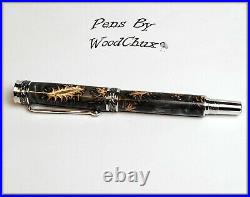 Pen HandMade Writing Ball Point Fountain Mini Pine Cones Pens SEE VIDEO 1269a
