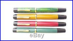 Ranga Ebonite Fountain Pen-majestic Model-flat Shape-german Bock Nib & Converter