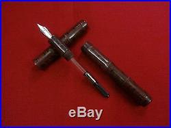 Ranga Ebonite Giant Bamboo Fountain Pen-ripple Colors-german Jowo Nib&converter