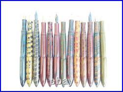 Ranga Handmade Ebonite Fountain Pen -model 8b- Clipless-german Nib &converter