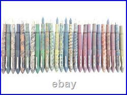 Ranga Handmade Ebonite Fountain Pen -model 8b-matte Finish-german Nib &converter