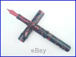 Ranga Handmade Premium Acrylic Giant Sugarcane Fountain Pen-german Nib&converter