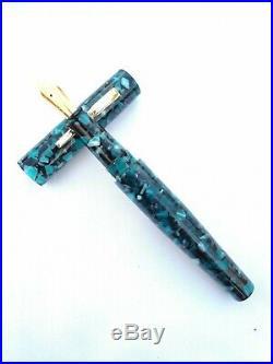 Ranga Handmade Premium Acrylic Model 4 Fountain Pen-german Nib & Converter