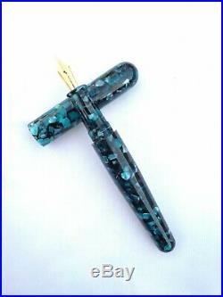 Ranga Handmade Premium Acrylic Model 5 Fountain Pen-german Nib & Converter