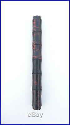 Ranga Japan Style Premium Ebonite Bamboo Fountain Pen-german Jowo Nib &converter