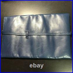 Rare Maggiore Fountain Pen 6-Piece Calf Leather Pen Case Good Condition Japan