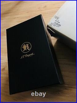 S. T. Dupont pen box for president fountain pen dragon diamonds extremely rare