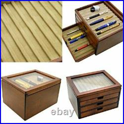Toyooka Craft Fountain Pen Case Kingdom Note for 40 pens New Free Expedite Ship