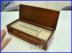 Toyooka Craft Fountain pen case 24.7cm x 10.2cm x H6.2cm