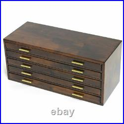 Toyooka Craft Handmade Fountain Pen Box for 100 pens Kingdom Note Authentic