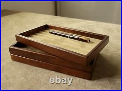 Toyooka Craft Pen tray S sc101 Fountain pen Brushed cloth Stackable 6 pieces