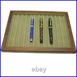 Toyooka Craft Wooden Tray for Fountain Pen Chest for 12 Slot Japan New withTra#