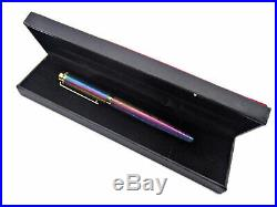 Unique Handmade Damascus Steel Fountain Pen With Rainbow Colours A. K-39