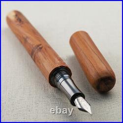 Wancher Hand Made Wooden Oak Fountain Pen Nib/F 155mm