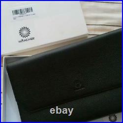 Wancher Japan Genuine Leather Handmade Fountain Pen Case 13 Pens Black