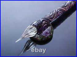 Wancher Kunisaki glass fountain pen dip pen type pen pillow set Spring handmade