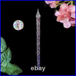 Wancher Kunisaki glass fountain pen dip pen type pillow set Spring 03 handmade
