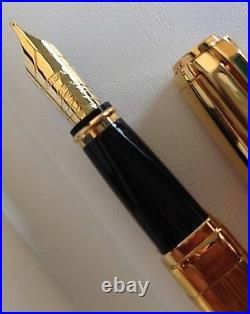 Waterman Exception Limited Edition Fountain Pen Vermeil The Marks Of Time NIB