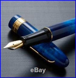 Xezo Handmade Phantom Stardust Extra Fine Fountain Pen, Limited Edition